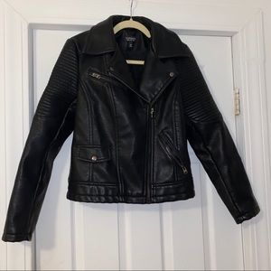 TopShop leather jacket - size 6 NEVER WORN